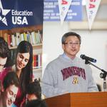 「台灣是美國留學生前10大來源」 梅健華勉勵學子多交新朋友