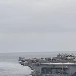 壓制金正恩!美軍三艘核動力航空母艦齊聚西太平洋