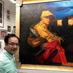 以藝術搭起溝通橋樑   中國贈教宗二幅藏人主題油畫