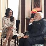 印度女星見總理》這種場合穿裙子露腿 到底哪兒不對了?