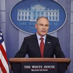 美環保部部長普魯特:美國人不需要為退出《巴黎協定》道歉