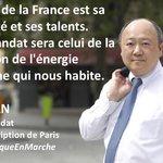 巴黎市議員陳文雄民調第一 挑戰成為法國第一位華裔國會議員!