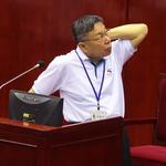 民進黨文宣偷渡進建中 柯文哲:會通知各校不得張貼