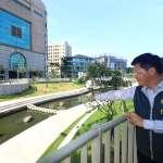豪雨無損柳川 林佳龍:請批評前瞻建設水環境的人過來看看