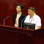 首度談北農總經理人選吳音寧,柯文哲:形象不錯,但要一組人上去協助