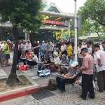 龍山寺外寫生遭警驅趕!藝術家朱啟助:台北重返戒嚴了嗎?