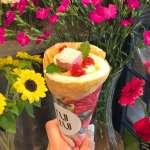 「超適合拍照上傳IG的」讓東京女孩瘋狂討論的代官山花束可麗餅店,好吃又好拍