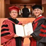 表彰藝術前輩貢獻,北藝大頒授名譽博士學位予朱宗慶、李柏君、李義弘、邱火榮、許文龍