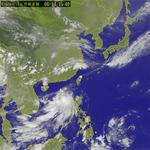 第2號颱風莫柏對台影響不大 但中南部恐降雨