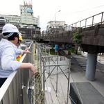 基隆火車站南站廣場 八月底開放