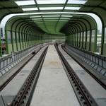 台中捷運綠線軌道鋪設完成 將進入電聯車測試階段