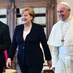 當上帝牧者遇上民主砥柱》教宗方濟各勉勵德國總理梅克爾:請堅定捍衛《巴黎協定》!