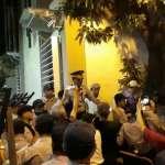反年改民眾強行衝封鎖線 與警方爆發推擠