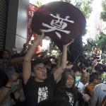 香港回歸20周年》港人要求釋放劉曉波 慶祝活動蒙陰影