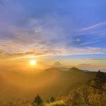避暑勝地看日出、賞雲海 太平山暑假凌晨3點半提早開園