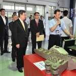 陳建仁參訪漢翔公司,肯定逐步引進機械及航太人才