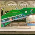 「淡海輕軌遇上幾米」紅樹林捷運站 感受幾米陪伴的乘車體驗