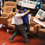 為何昔日怒罵太陽花學運的國民黨,如今在立院天天打架?名律師3點神打臉