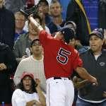 有望常駐美國職棒大聯盟!林子偉換穿紅襪隊5號球衣