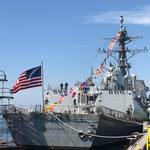 美國海軍再添新血 神盾飛彈驅逐艦「芬恩號」加入太平洋艦隊