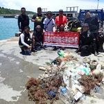海洋垃圾問題不能等,屏縣清理小琉球「寶特瓶海」