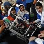 6名阿富汗女孩勇闖美國機器人大賽 盼成家鄉女性榜樣