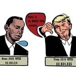 「這個詞」在美國通常是少女講的口頭禪,帶點歇斯底里,它竟然被川普拿來罵歐巴馬