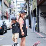8歲小女孩靠滑板走遍世界,道出最成熟人生觀:每次碰到的難關,都會讓妳變強!