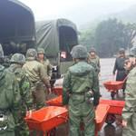 尼莎來襲  特戰部隊進駐山區以利救災