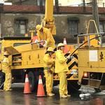 全台累積逾10萬戶一度停電,台電今動員近700人積極搶修 小琉球全島復電