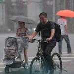強降雨來襲!17縣市發布大雨特報 部份地區一級淹水警戒