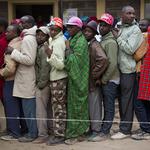 肯亞總統大選備受矚目 投票日一切平和暫無動亂
