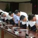 李世光偕中油、台電董事長道歉 影響680萬戶、停電到午夜