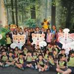 台中國際動漫博覽會 花博石虎家族與觀眾同入鏡