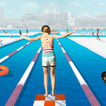 回天然河流裡游泳吧!這座漂浮泳池超夢幻,親水消暑之餘,還能欣賞紐約天際線!