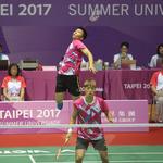 世大運羽球》混合團體組直落三 中華隊「拍」下日本奪金