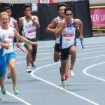 世大運田徑》400米接力預賽楊俊瀚領軍 跑出分組第1晉級