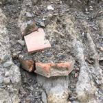 疑似發現台灣省城遺址 台中國光路口挖出大量清代紅磚瓦