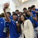 接見世大運英雄 蔡英文讚郭婞淳:妳的這一舉,讓台灣人都團結起來