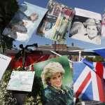 永遠的「英倫玫瑰」逝世20周年 全球粉絲齊聚黛妃生前居所「肯辛頓宮」追思