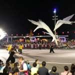 直擊》基隆放水燈遊行登場 前太陽劇團舞者張逸軍領軍編創大型舞劇