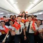 越南國慶日原來在這天!越捷舉辦機上派對