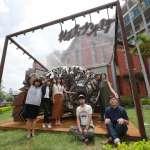 廢棄物轉化藝術能量 竹市美術館多媒材創作展吸睛
