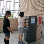 中市府補助121校汰換老舊飲水機,今年底完成每2班1台目標