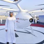 杜拜94狂!空中計程車試飛成功,最高時速100公里,你想搭看看嗎?