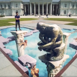 奇美打卡新聖地!大型3D沉思者、展廳瑜珈課…羅丹逝世百年活動多,任你翻玩博物館!