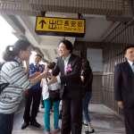 百福車站天橋通行 居民搭火車更方便