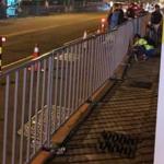 台中國慶晚會鐵欄「圍城」網友:居民一覺起來發現家被圍住