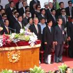 總統邀各黨領袖坐下來談,宋楚瑜:願意參與