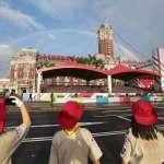 彩虹現身慶祝中華民國106年國慶